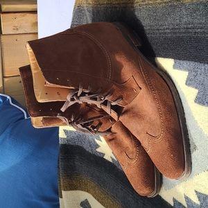PAL ZILERI Mens Suede Brown boots